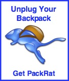 Unplug your Backpack - get PackRat!